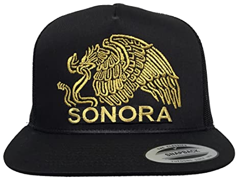 84404323439 Sonora Mexico Logo Federal New Eagle Front Only Hat Black Mesh at ...