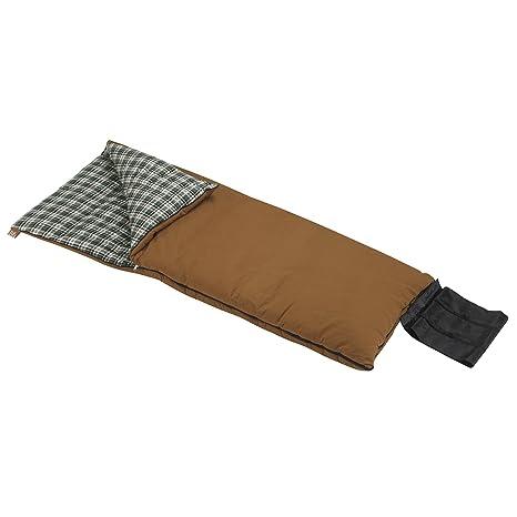 Wenzel Grande - Saco de dormir, color marrón
