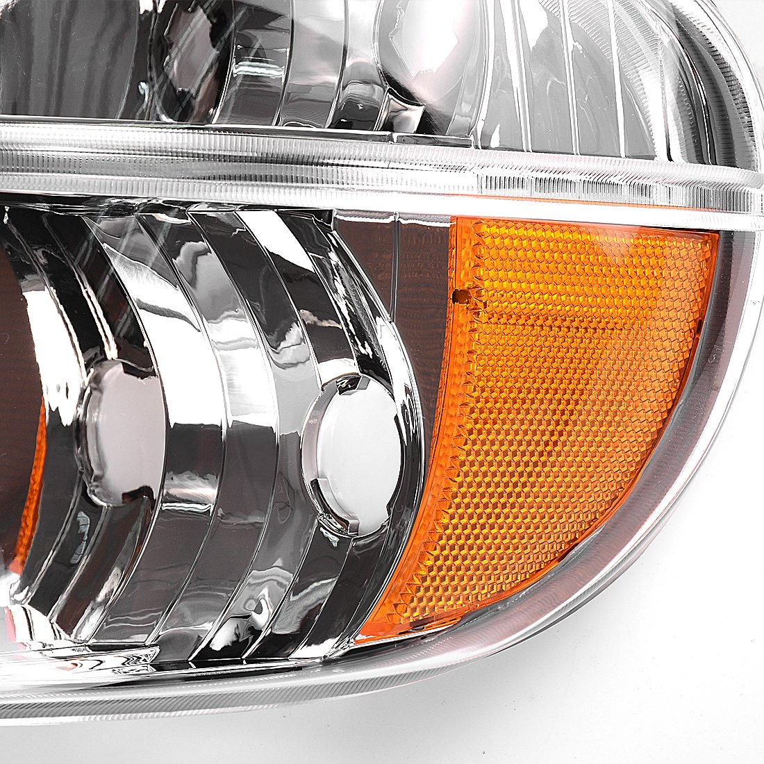 Amazon.com: Headlights Assembly OE Style Replacement Direct Fit for 95-01  Ford Explorer/Mountaineer Chrome Housing + Corner Lights,1 Year Warranty  (Chrome): ...