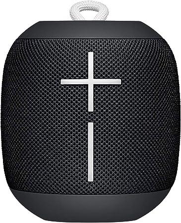 Oferta amazon: Ultimate Ears Wonderboom Altavoz Portátil Inalámbrico Bluetooth, Sonido Envolvente de 360°, Impermeable, Conexión de 2 Altavoces para Sonido Potente, Batería de 10 h, color Negro