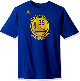 Outerstuff Kevin Durant Golden State Warriors Youth Gametime Number T-Shirt (Royal)