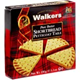 Walkers Petticoat Tails Shortbread Cookies, 5.3 Ounces (Pack of 6)