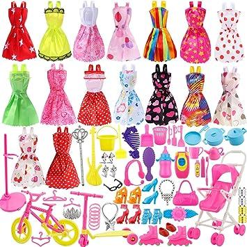 Amazones Mattelsen Accesorios De Vestir Para Barbie