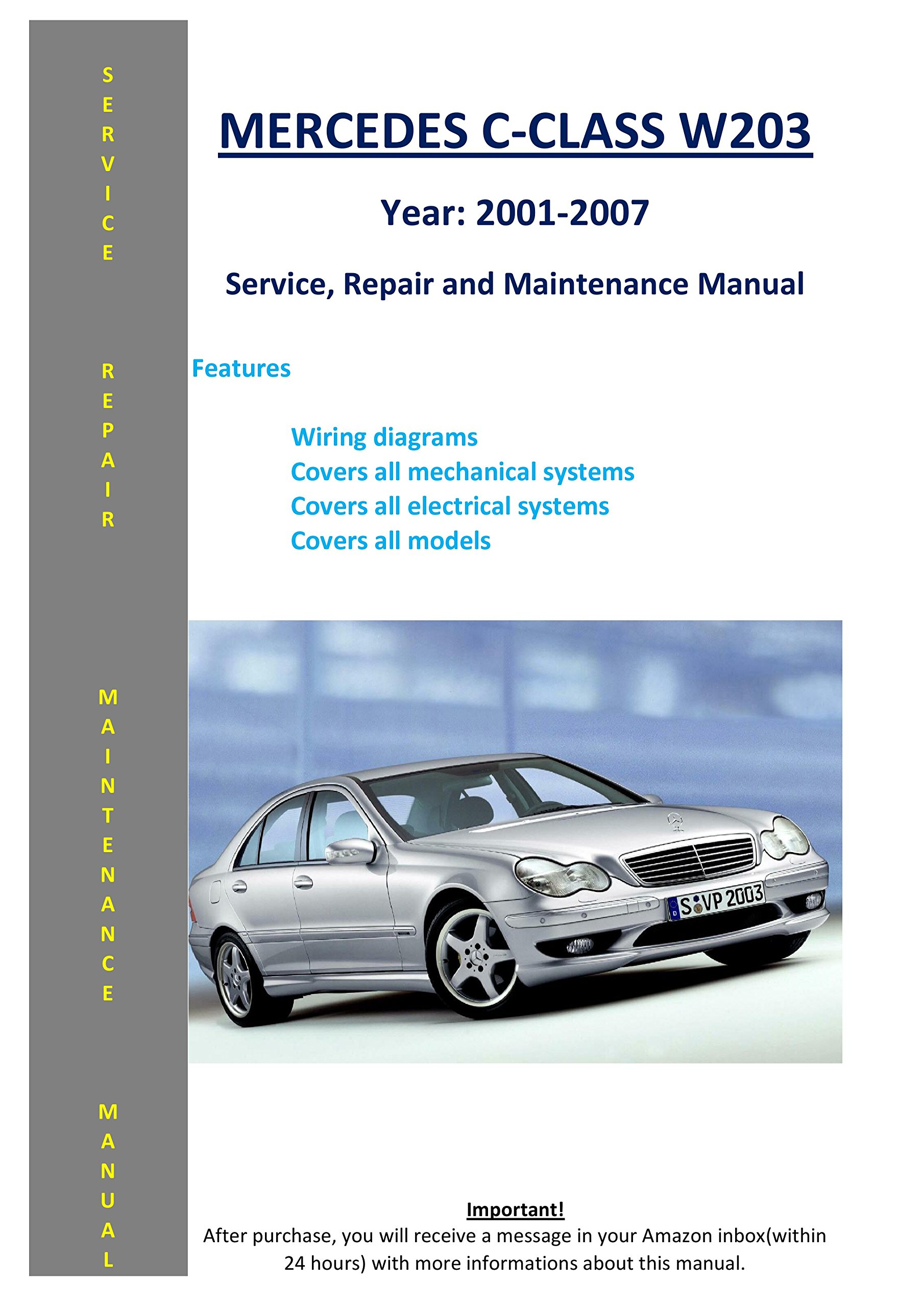 [QMVU_8575]  Mercedes-benz C-class W203 From 2001 - 2007 Service Repair Maintenance  Manual: SoftAuto Manuals: 5858006536925: Amazon.com: Books   Mercedes Benz C Class Wiring Diagrams      Amazon.com