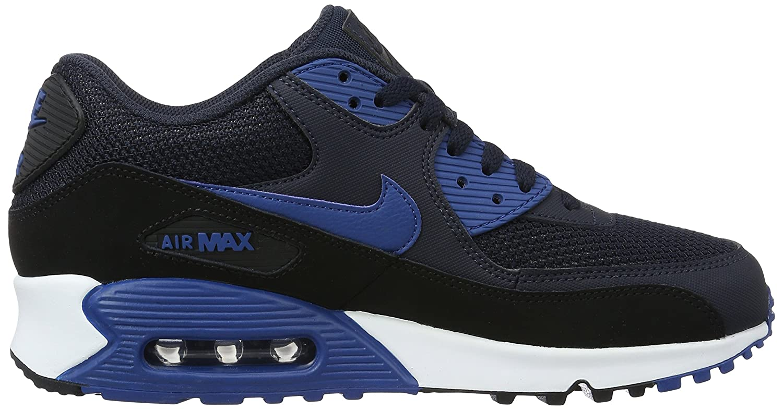 Nike Air Max 90 Essential Dark Obsidian Court Blue Black