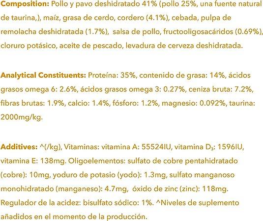 IAMS for Vitality Alimento para Gato Adulto con Cordero, 3 kg