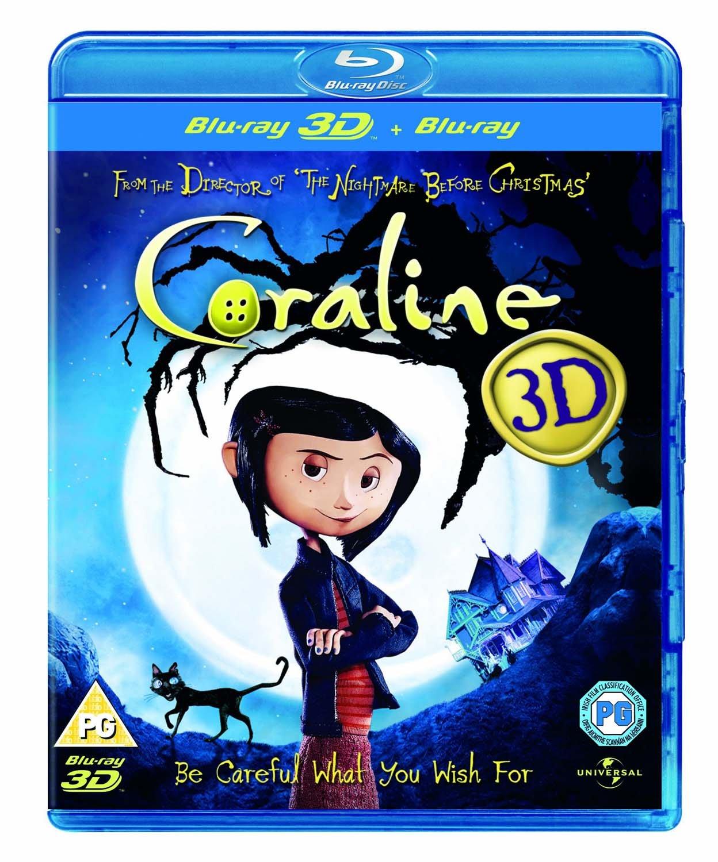 Coraline - 3D [Edizione: Regno Unito] [Reino Unido] [Blu-ray]