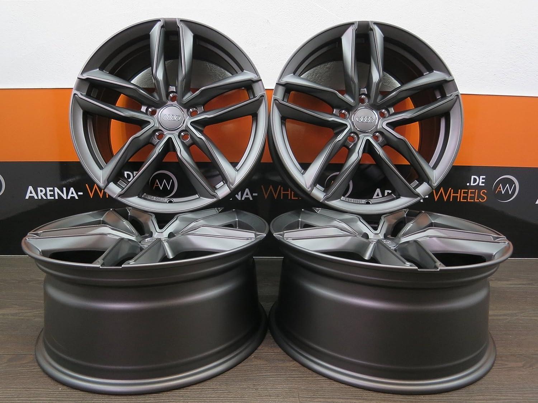 4 Alufelgen Ultra Wheels UA6 20 Zoll passend f/ür A3 S3 8V 8P A4 S4 8K A6 4F 4G Q3 8U TT 8J 8S 8.5J NEU