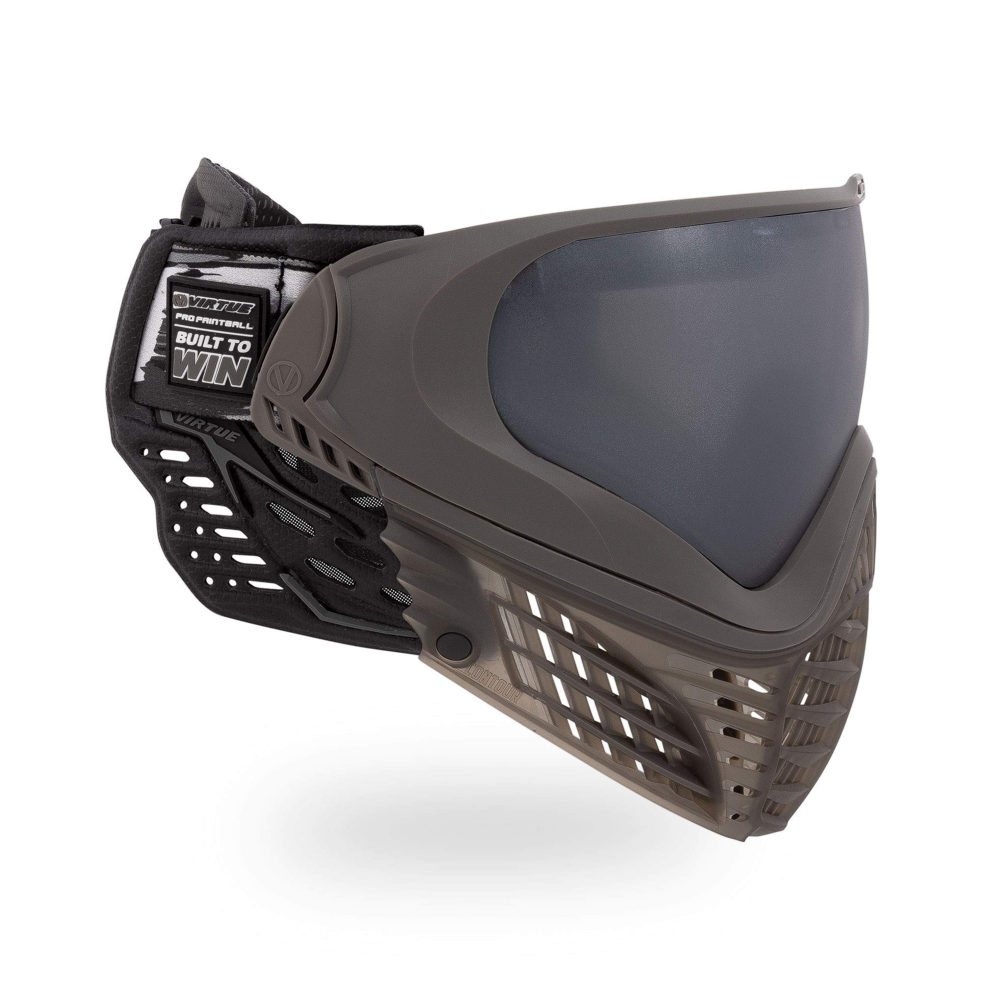 Virtue VIO Contour II Thermal Paintball Goggles/Masks - Dark Slate by Virtue Paintball