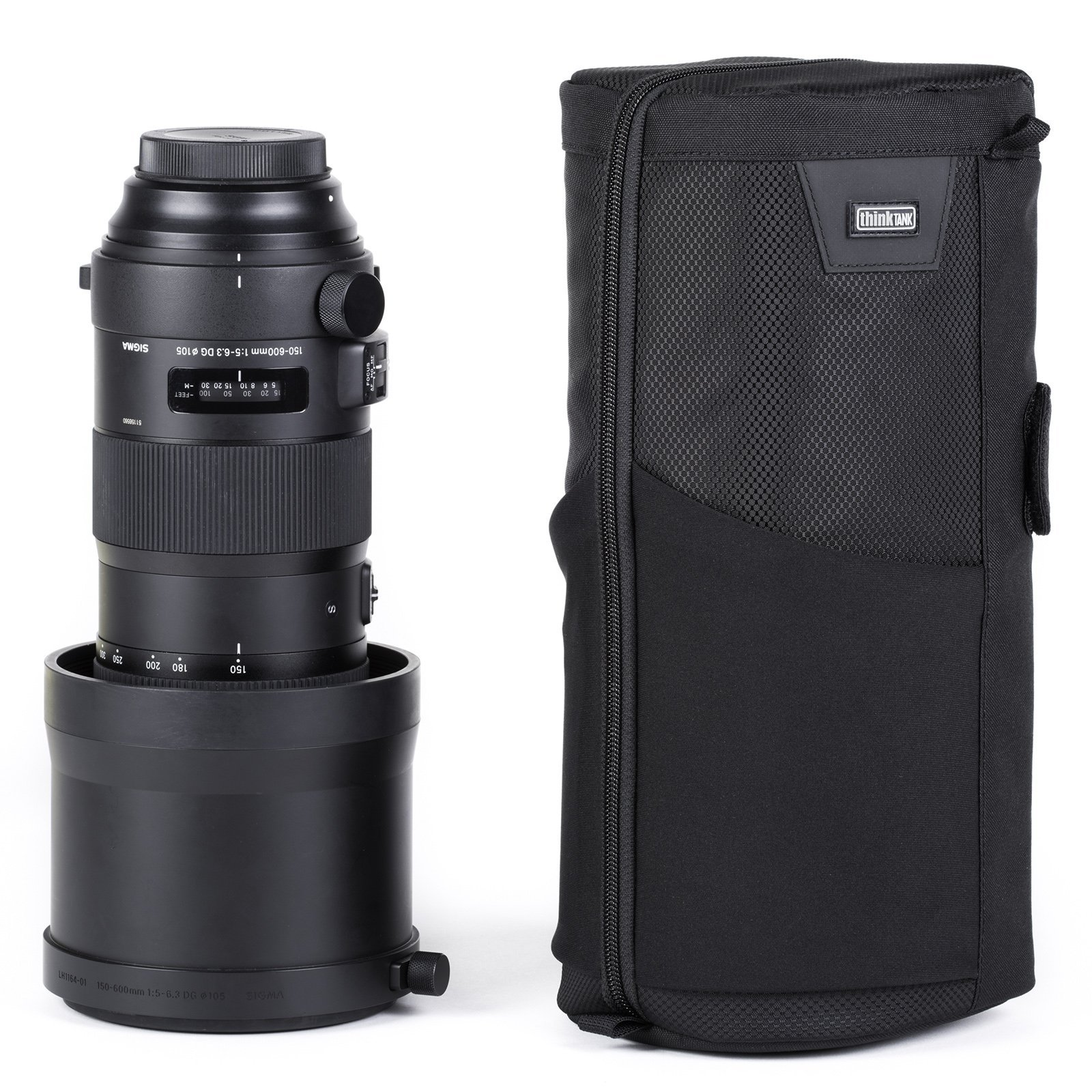 Think Tank Photo Lens Changer 150 V3.0 Lens Case (Black) by Think Tank