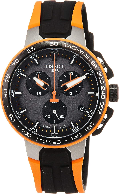 Tissot T-RACE CYCLING ORANG SILIKON Q T111.417.37.441.04 Cronógrafo para hombres