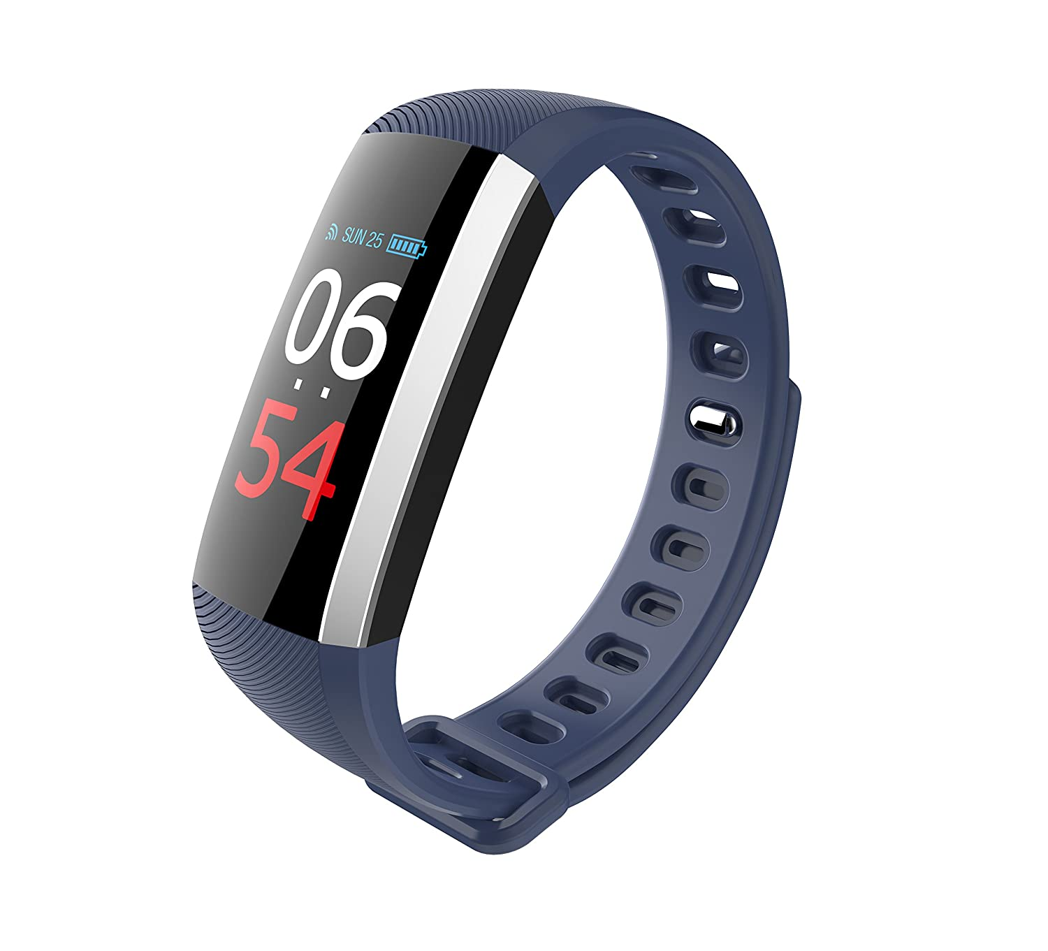TU2blueee Fitness Tracker Watch, Collasaro blueeetooth Sports Fitness Watch Waterproof with Heart Rate and Blood Pressure Monitor, Pedometer, Smart Watch for iOS iPhone & Android Smartphone…