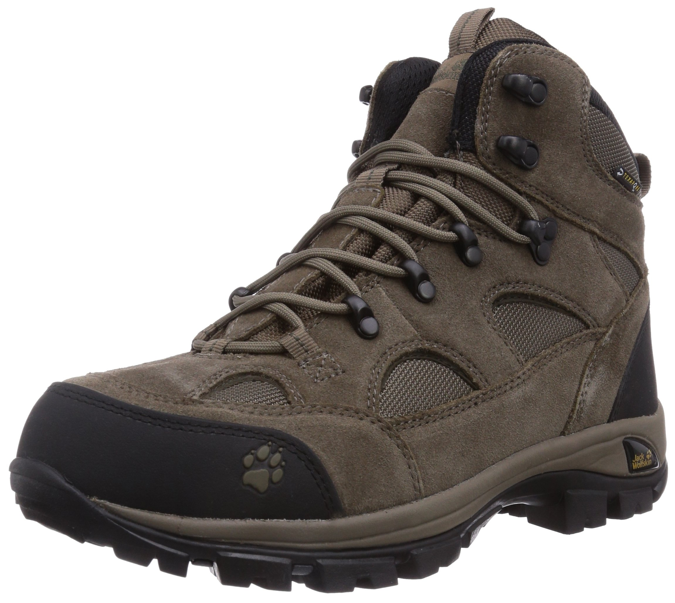 jack wolfskin all terrain texapore men mens trekking and hiking boots 7 uk new ebay. Black Bedroom Furniture Sets. Home Design Ideas