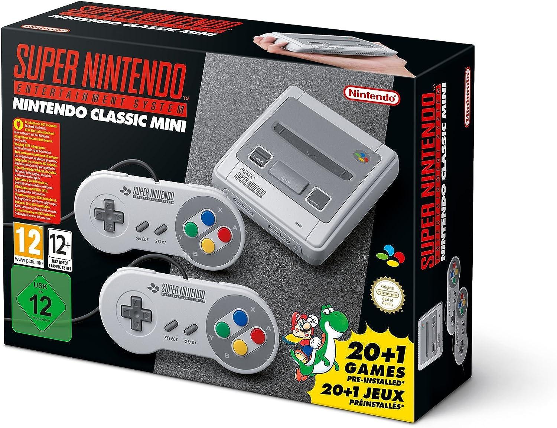 Super Nintendo - Consola SUPER NES Classic Mini: Nintendo: Amazon ...