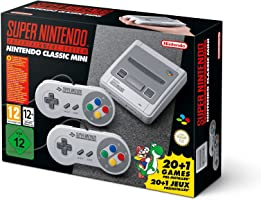 Nintendo Classic Mini: Super Nintendo Entertainment System SNES 21 games 2 Controllers