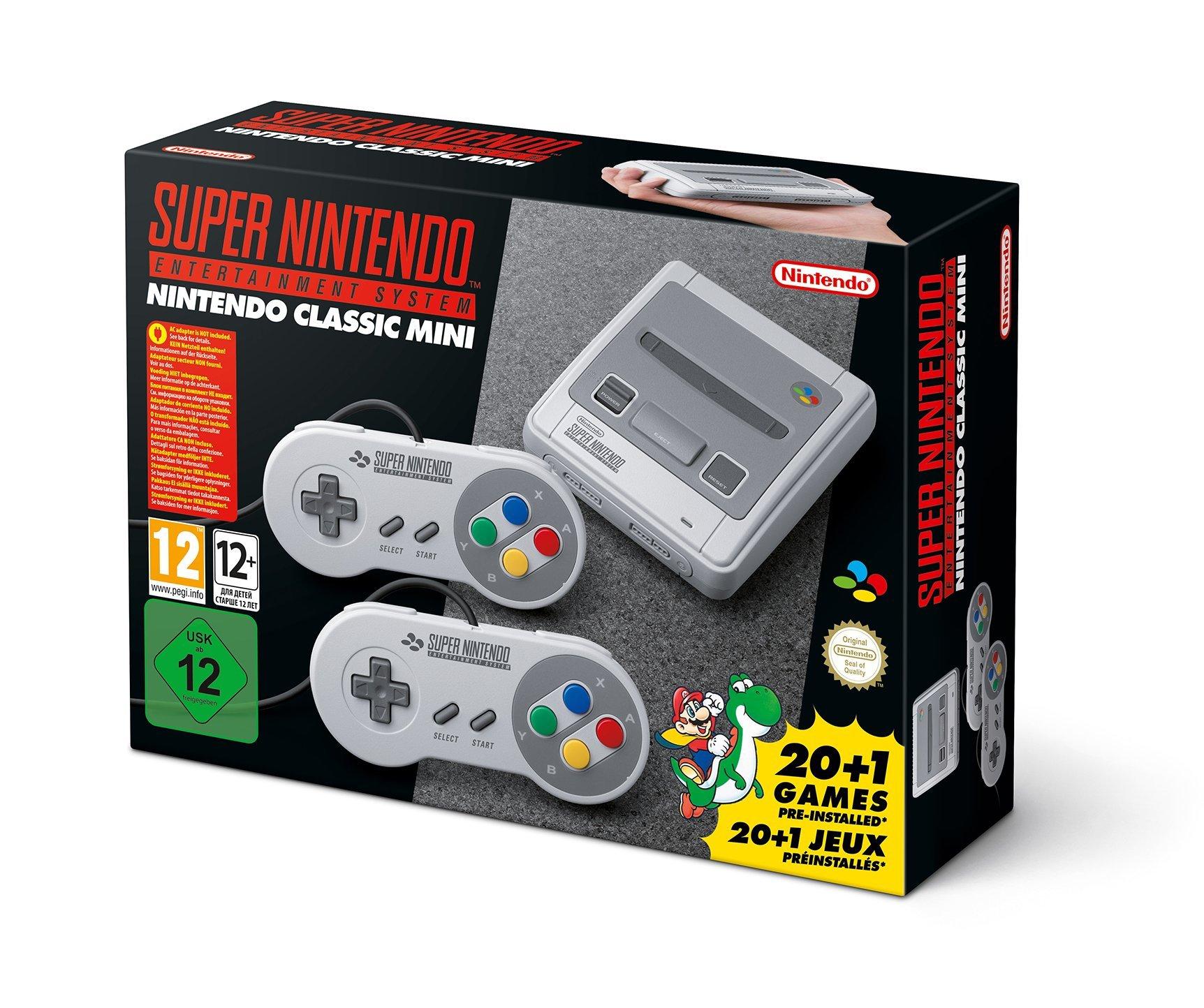 SNES Nintendo Classic Mini: Super Nintendo Entertainment System (Europe), Not Region Locked by Nintendo (Image #1)
