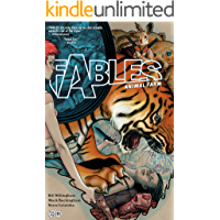 Fables Vol. 2: Animal Farm (Fables (Graphic Novels)) book cover