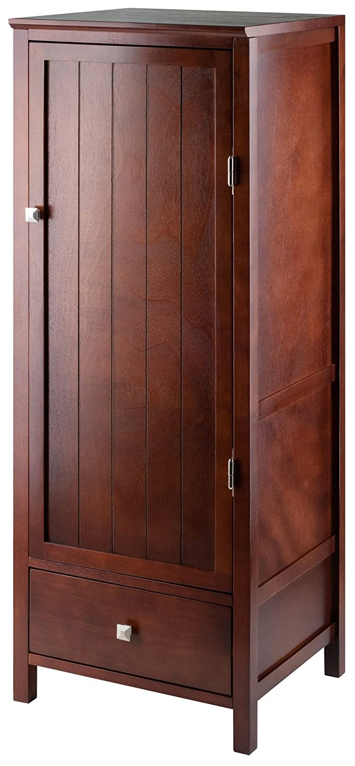 Amazon Winsome Wood Brooke Jelly Cupboard With Door And Drawer