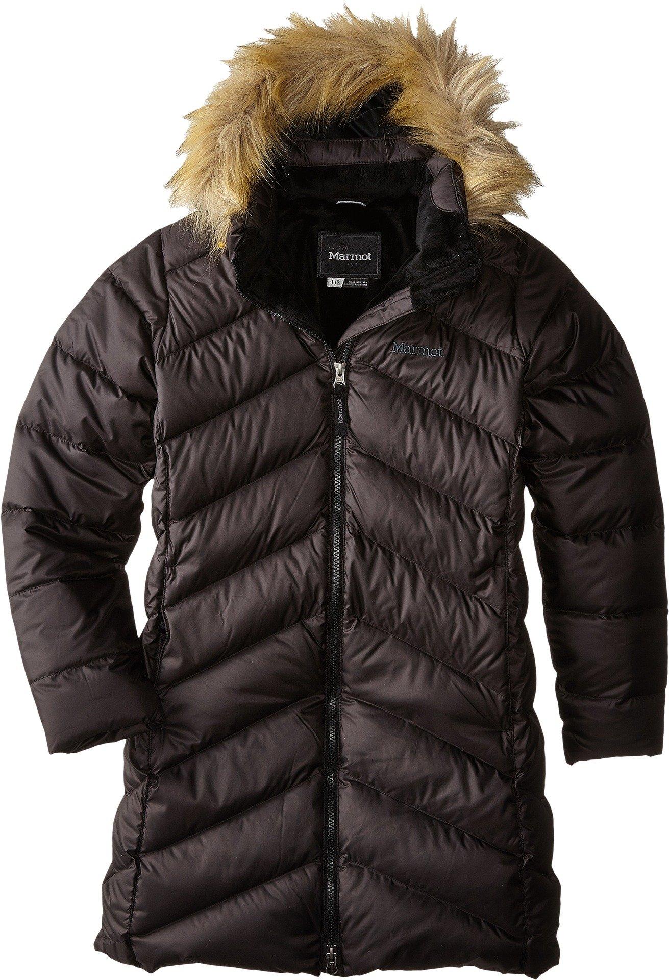 Marmot Big Girls' Montreux Coat (Kid) - True Black - Large