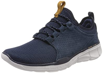 sale retailer e15a9 c0eb6 Skechers Equalizer 3.0-Westedge, Baskets Homme, Bleu (Navy NVY), 41