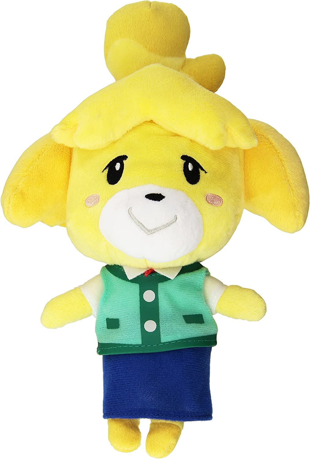 "Little Buddy USA Animal Crossing New Leaf Isabelle/ Shizue 8"" Plush"