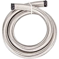 10AN AN10 ID=13mm 5 Foot Telfon PTFE Stainless Braided Hose E85 Methanol