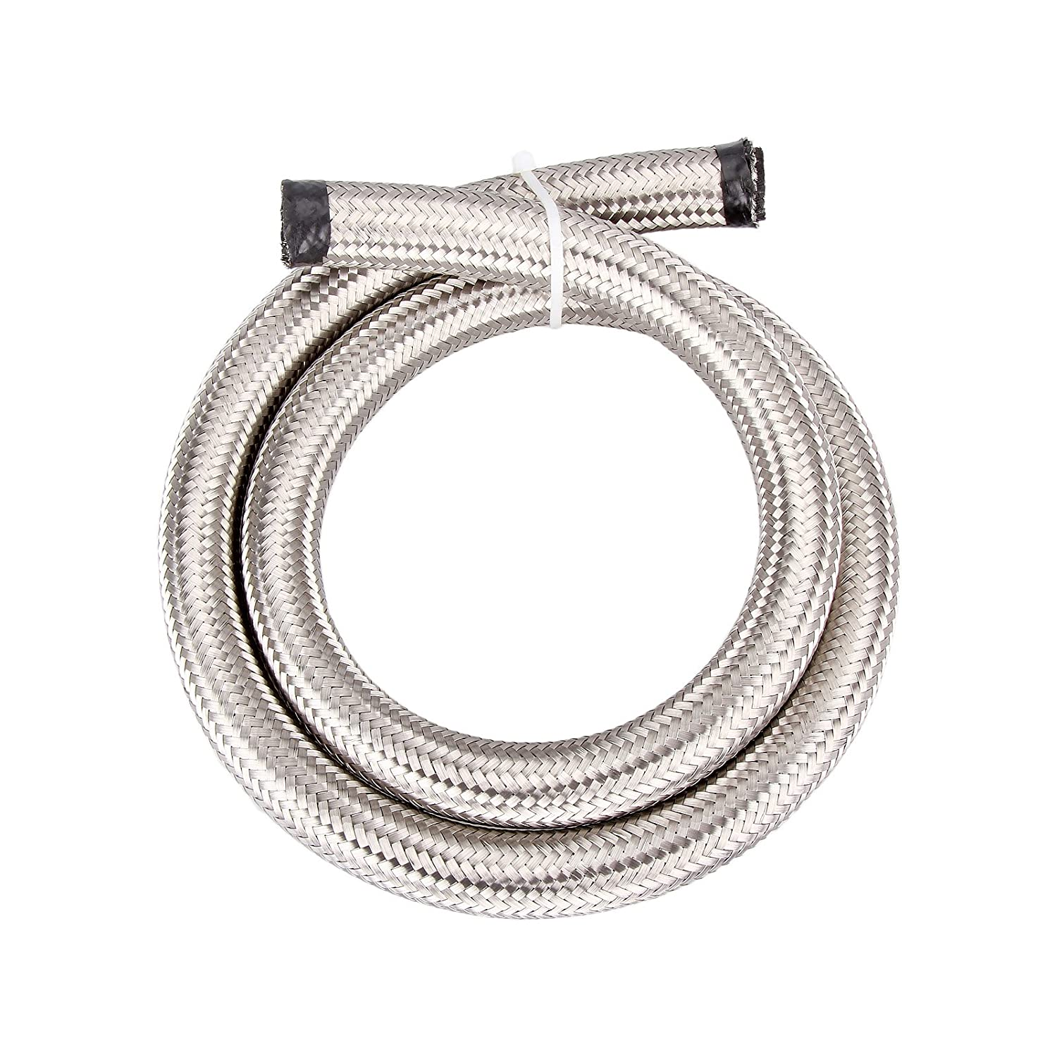 Madlife Garage Universal AN-10 AN10#308 Stainless Steel Braided Fuel Line Oil Gas Hose each 1 Meter/3.3 Ft Long