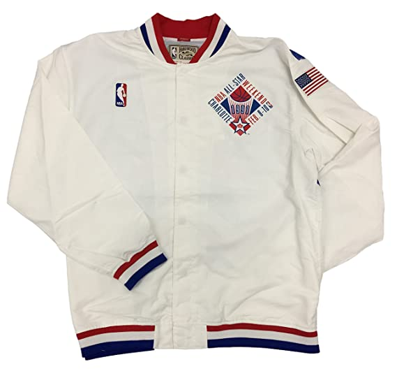 Mitchell   Ness NBA 1991 All Star Warmup Jacket (White a756d12b4