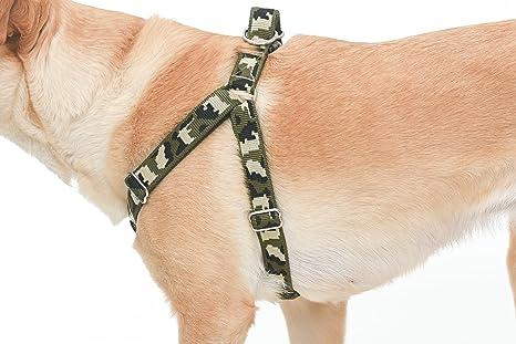 Arnés ajustable para mascotas de camuflaje y correa a juego ...