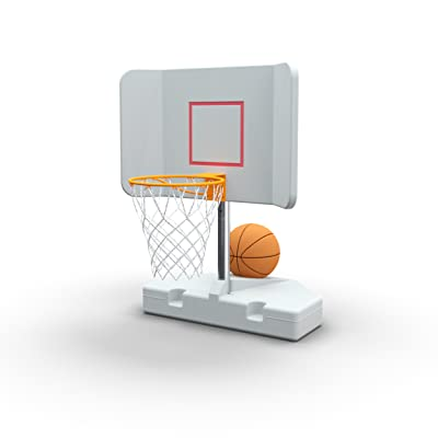 Pool Shot Wing-It Poolside Basketball Hoop with Winged Backboard: Sports & Outdoors
