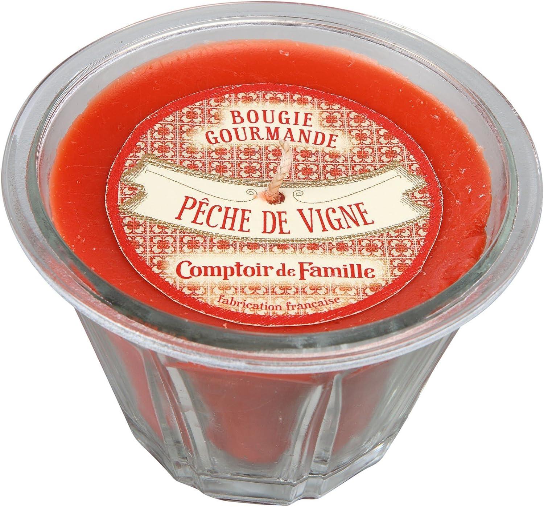 parfum Comptoir de famille bougie gourmande //De Cuisine Bougie Pêche