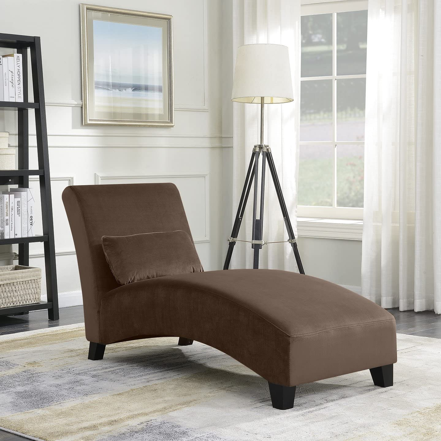 - Amazon.com: BELLEZE Chaise Lounge Indoor Furniture Living Room