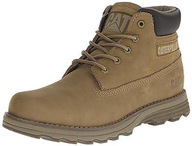 ff96e83de60 Cat Men's Founder Leather Boots