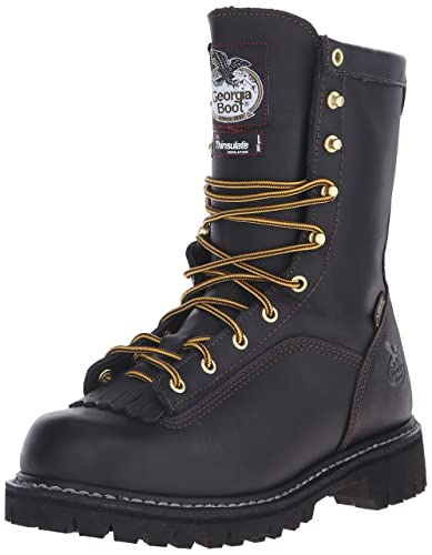 7efb6627fe3 Georgia Boot Lace-To-Toe Gore-Tex Waterproof Insulated Work Boot