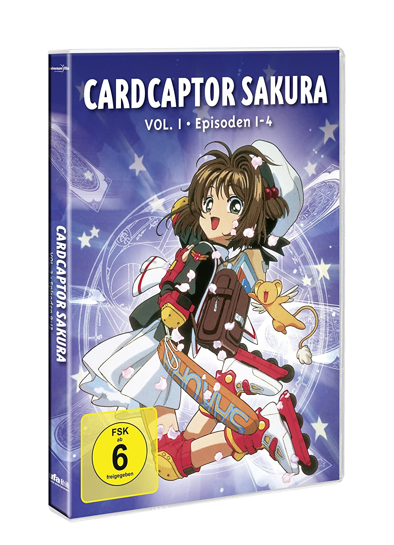 Cardcaptor Sakura Vol 1 Episoden 01 04 Amazonde