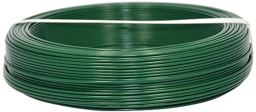 3 opinioni per Corderie Italiane 002014089 Filo Ferro Plastica, Verde, 2.2 mm, 100 m