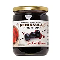 Peninsula Premium Cocktail Cherries | Award Winning | For Cocktails and Desserts...