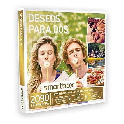 SMARTBOX - Caja Regalo - DESEOS PARA DOS - 2090 experiencias como masajes, cenas,