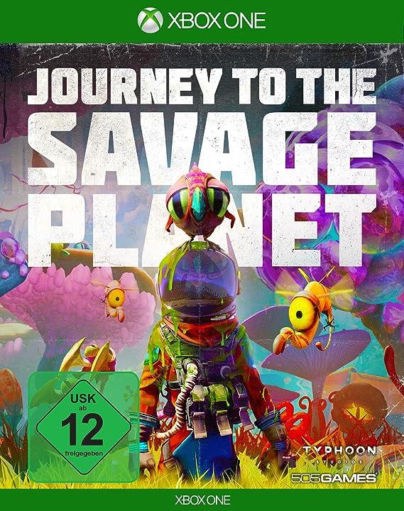 Journey to the Savage Planet - [Xbox One] [Importacion Alemania ...