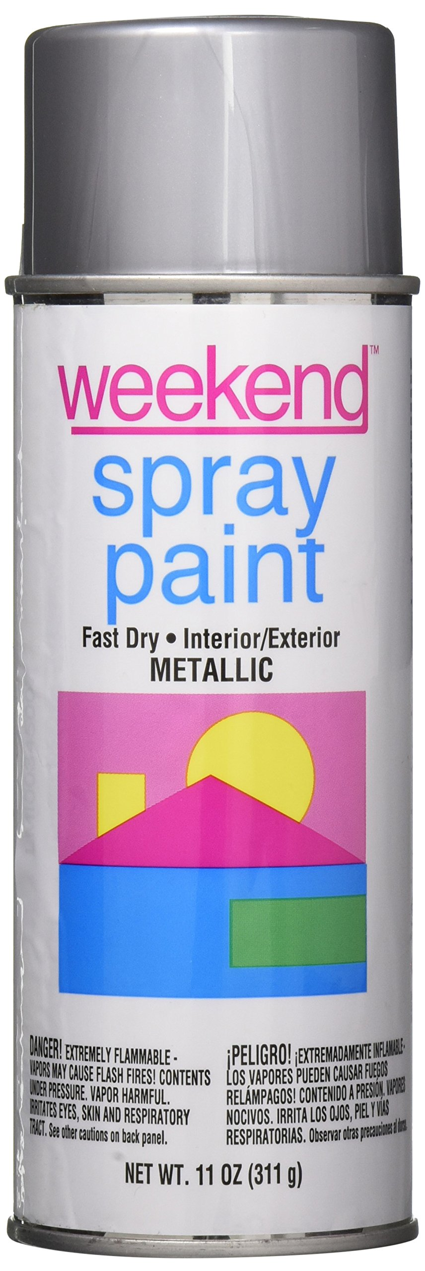 Krylon I00345 11-Oz. Chrome Aluminum Spray Paint, 11 Oz (Pack of 6)
