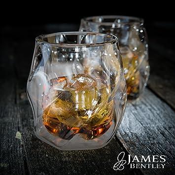 James De Doble Vaso ParedAmazon esHogar Bentley Whisky lKJTcF1