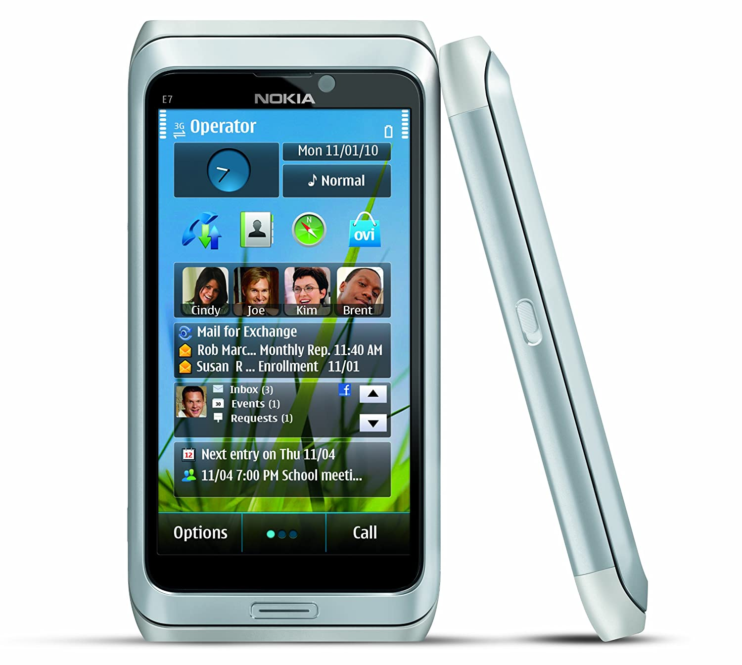 You are here home mobiles devices symbian anna update 25 7 -  Phone With Touchscreen Qwerty Keyboard Easy E Mail Setup Gps Navigation 8 Mp Camera U S Version With Warranty Silver Cell Phones Accessories