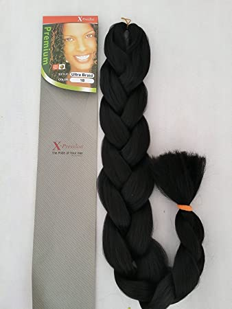 X pression braiding hair review