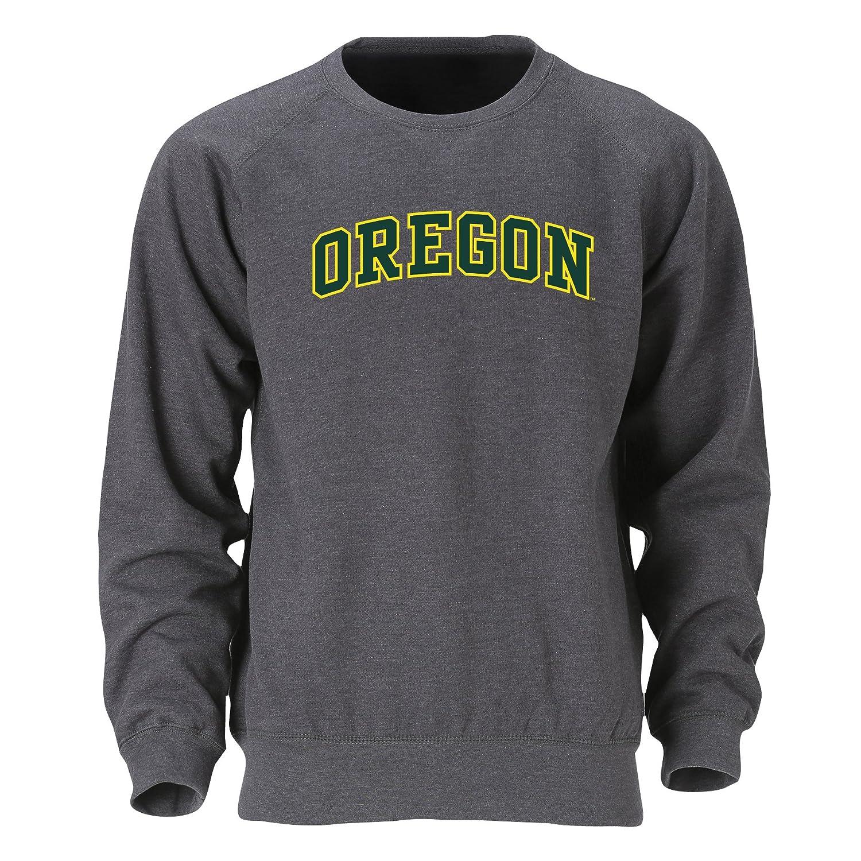 Large Ouray Sportswear NCAA Oregon Ducks Mens Benchmark Crew Top Graphite