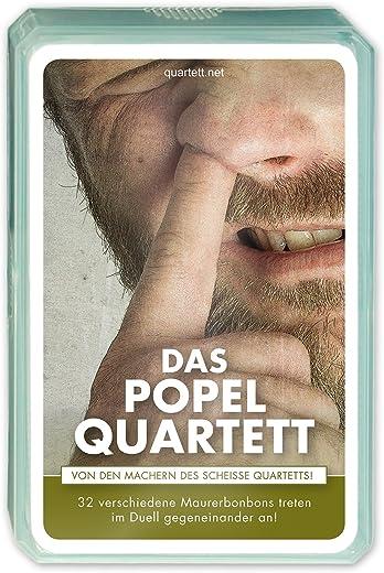 Popel Quartett Kartenspiel