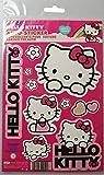 Kaufmann Neuheiten HK-KFZ-101 Lot d'autocollants Hello Kitty pour voiture