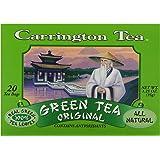 Carrington Green Tea, Original, 20 Tea Bags (Pack of 6)