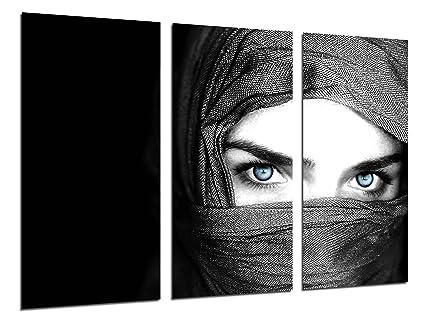 X Cm Fotográfico Tamaño Xxl Mujer Ojos Azules Total97 Cuadro 62 L5Rjq3Ac4S