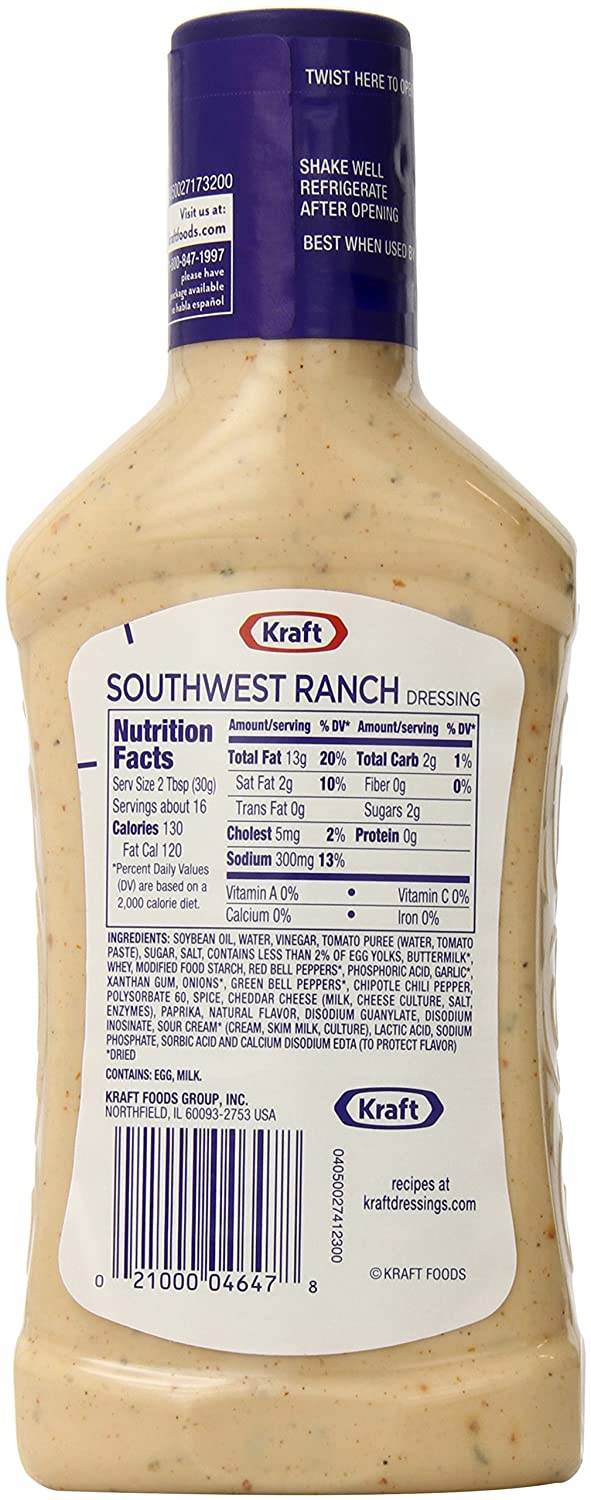 recipe: kraft classic ranch dressing ingredients [13]