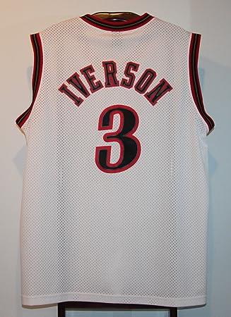 Trikot Jersey-Camiseta de baloncesto de Nba Philadelphia 76ers Allen Iverson XXL